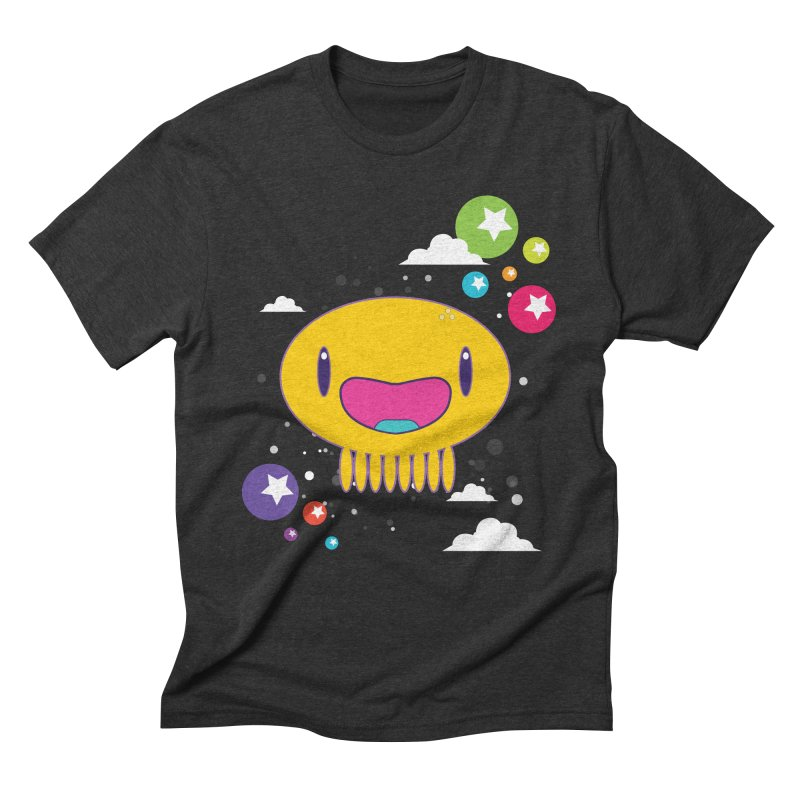 I am happy Men's Triblend T-Shirt by Jellywishes