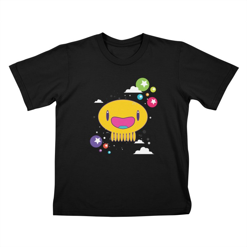 I am happy Kids T-Shirt by Jellywishes