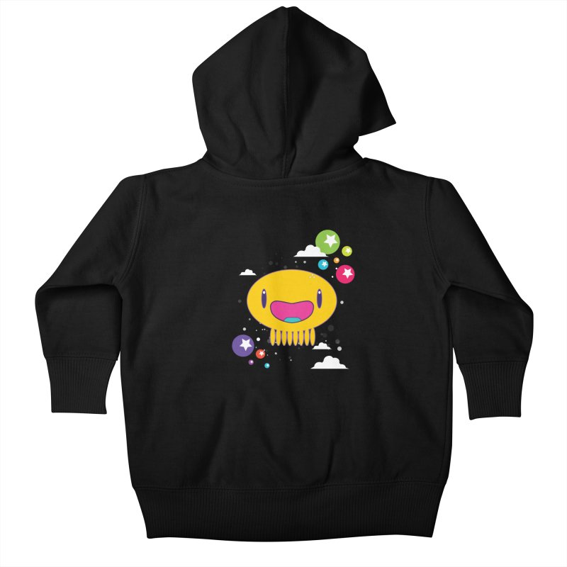 I am happy Kids Baby Zip-Up Hoody by Jellywishes