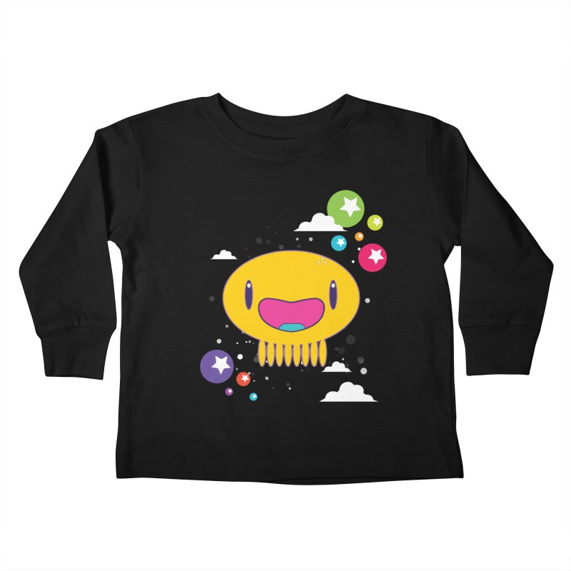 I am happy Kids Toddler Longsleeve T-Shirt by Jellywishes