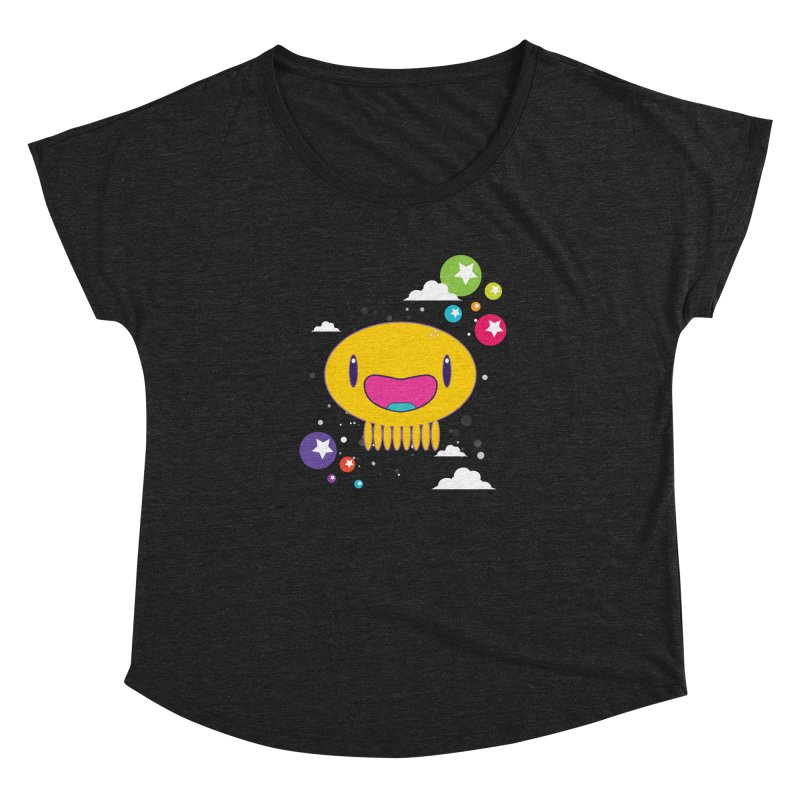 I am happy Women's Dolman Scoop Neck by Jellywishes
