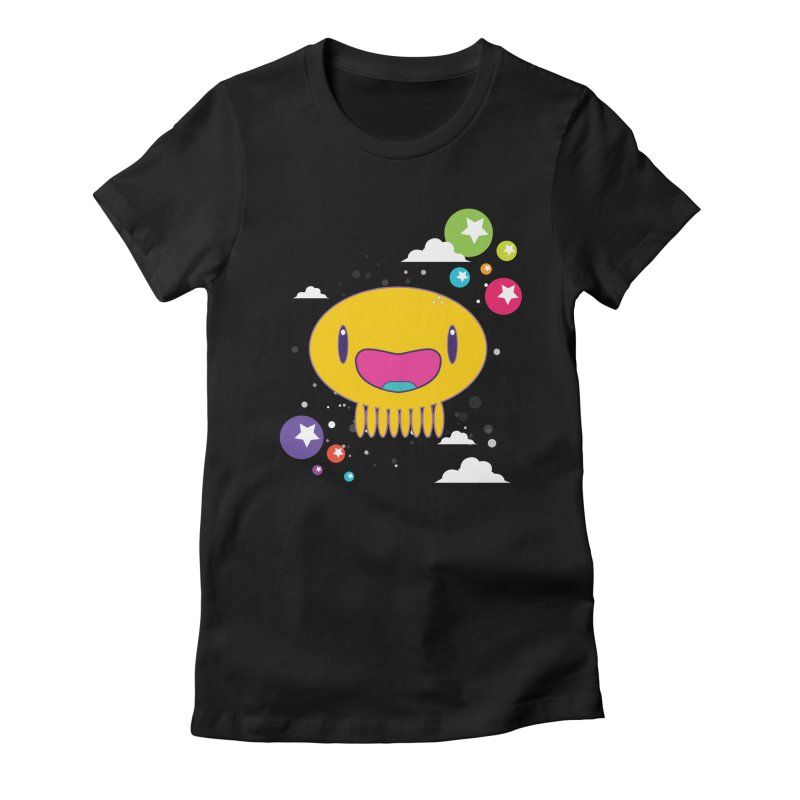 I am happy Women's Fitted T-Shirt by Jellywishes