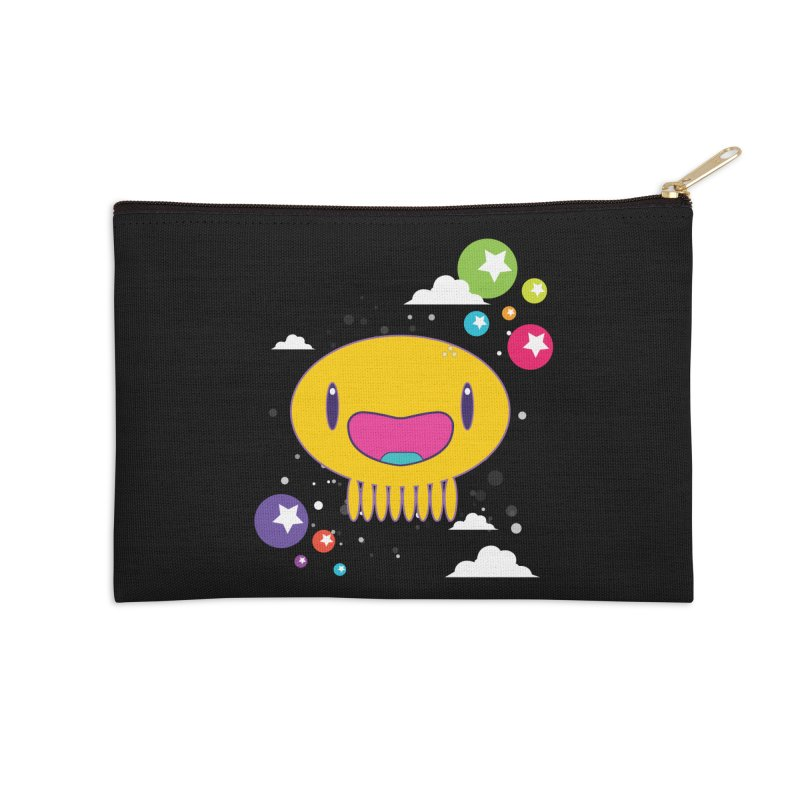 I am happy Accessories Zip Pouch by Jellywishes