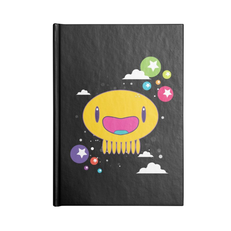 I am happy Accessories Blank Journal Notebook by Jellywishes