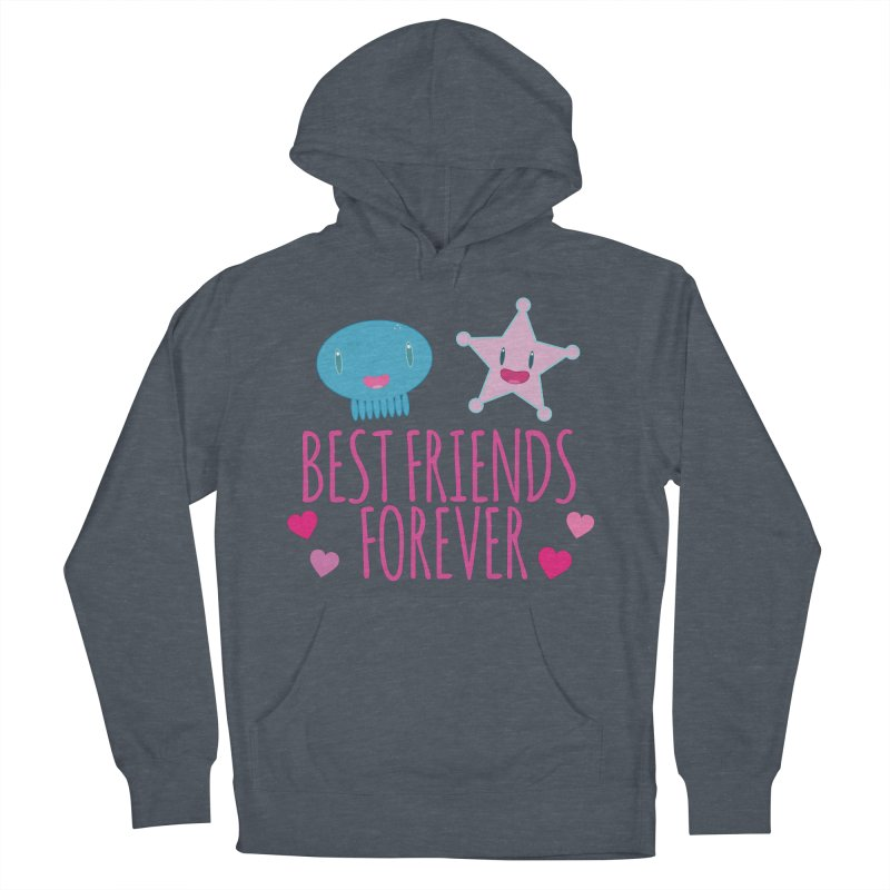 Best Friends Forever Men's French Terry Pullover Hoody by Jellywishes