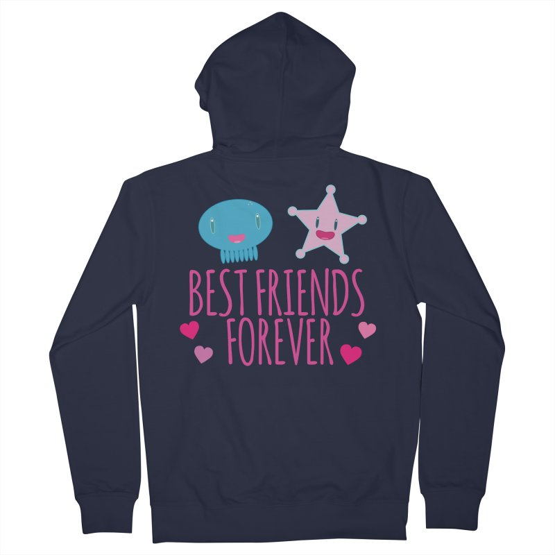 Best Friends Forever Women's Zip-Up Hoody by Jellywishes