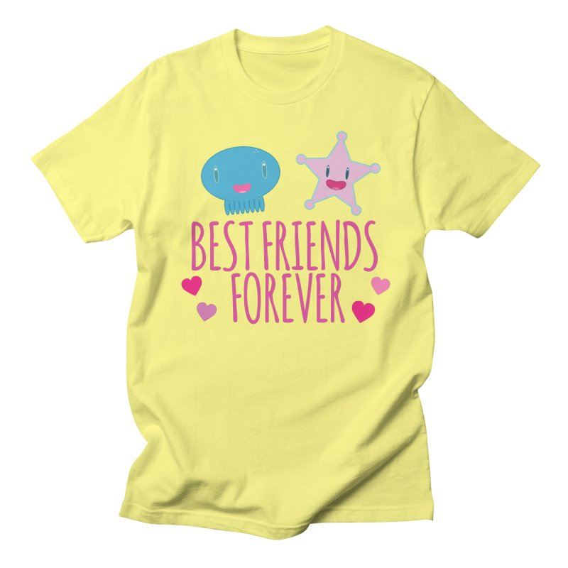 Best Friends Forever Men's T-Shirt by Jellywishes