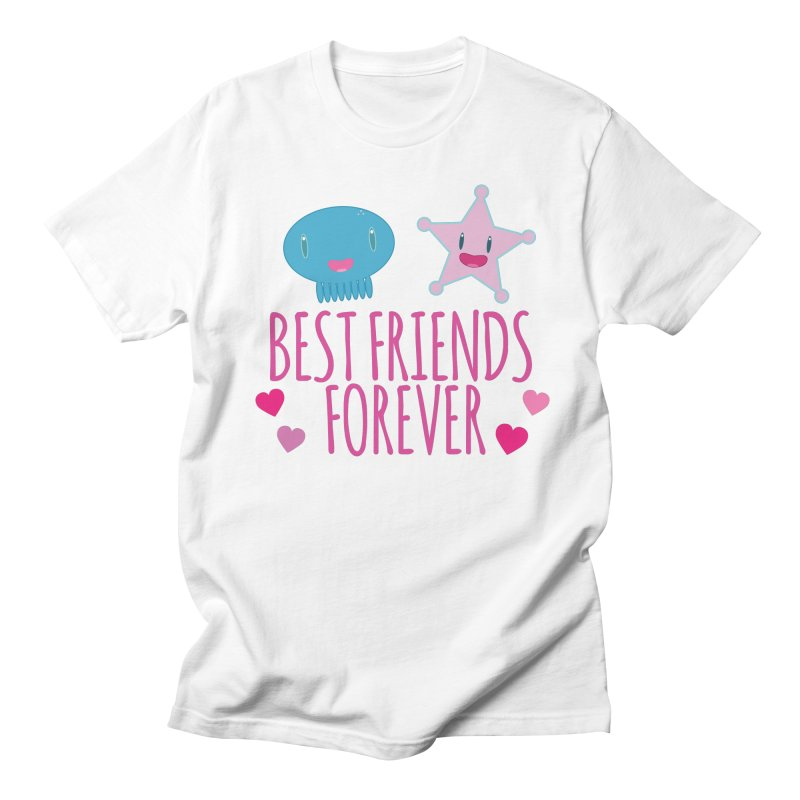 Best Friends Forever Women's Regular Unisex T-Shirt by Jellywishes