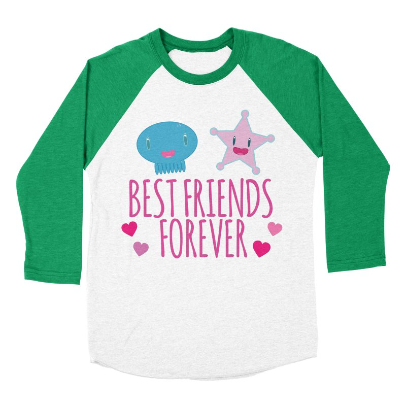 Best Friends Forever Women's Baseball Triblend Longsleeve T-Shirt by Jellywishes