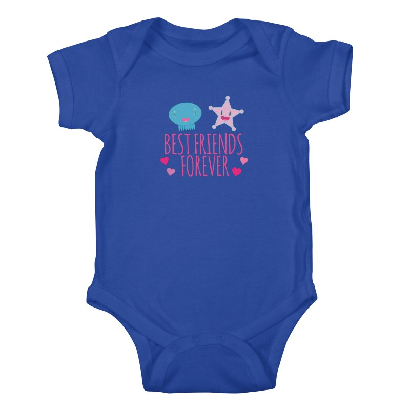 Best Friends Forever Kids Baby Bodysuit by Jellywishes