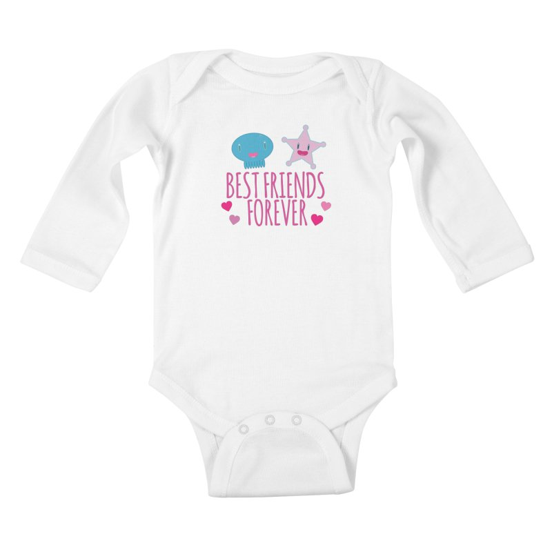 Best Friends Forever Kids Baby Longsleeve Bodysuit by Jellywishes