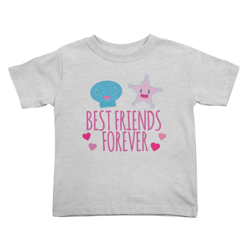 Best Friends Forever Kids Toddler T-Shirt by Jellywishes