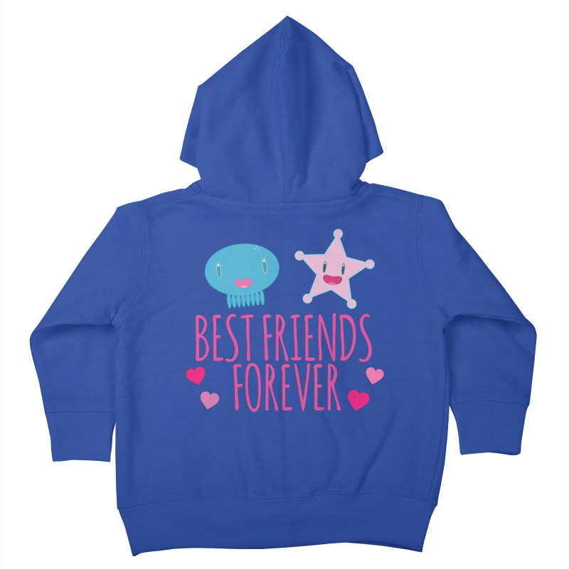 Best Friends Forever Kids Toddler Zip-Up Hoody by Jellywishes