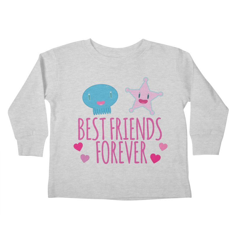 Best Friends Forever Kids Toddler Longsleeve T-Shirt by Jellywishes