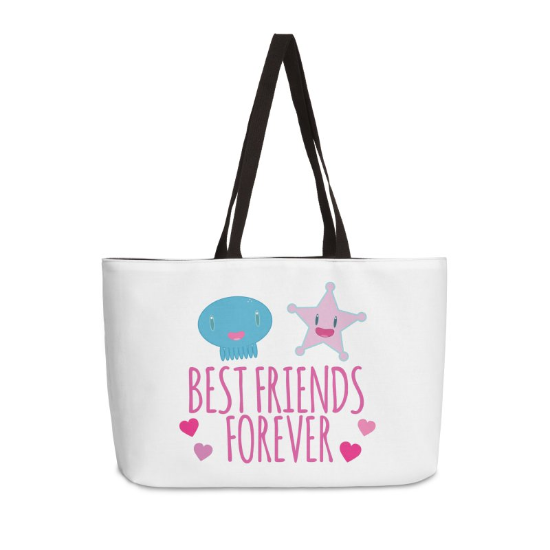 Best Friends Forever Accessories Weekender Bag Bag by Jellywishes