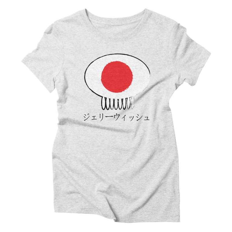 ジェリーウィッシュ Women's Triblend T-Shirt by Jellywishes