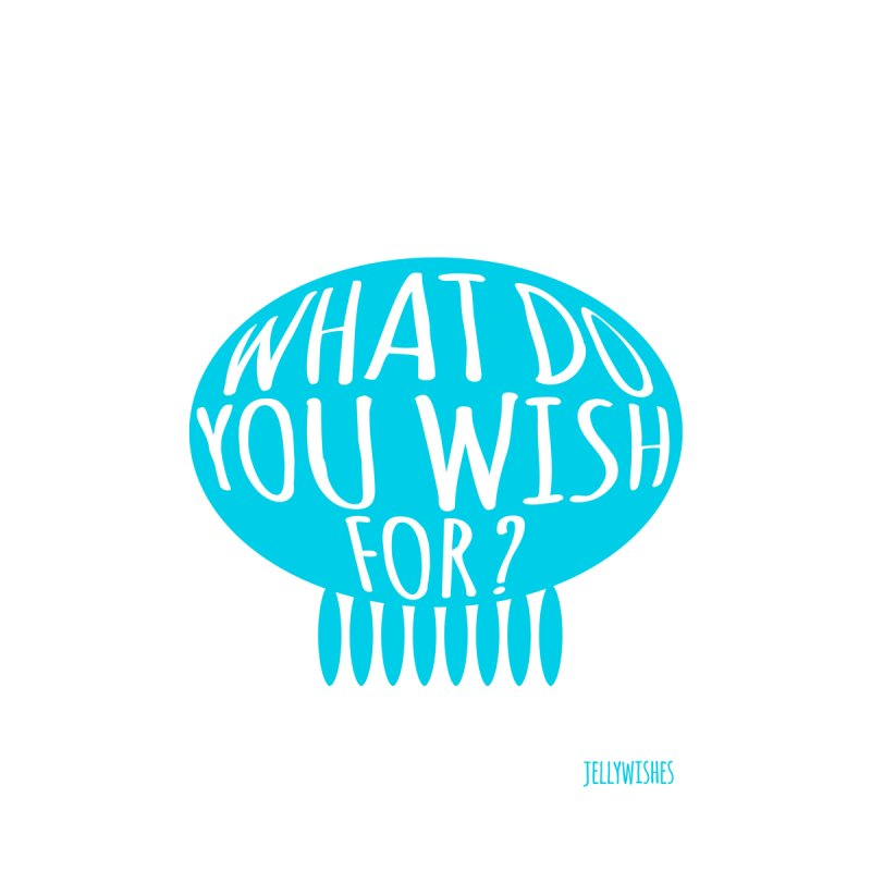 What do you wish for? - blue Home Framed Fine Art Print by Jellywishes