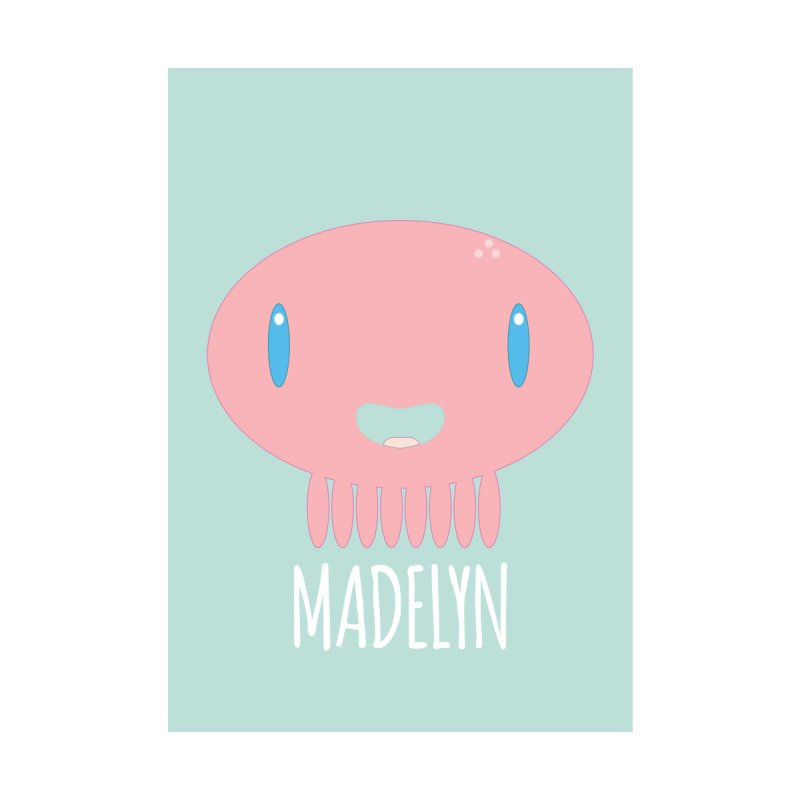 Madelyn Home Fine Art Print by Jellywishes