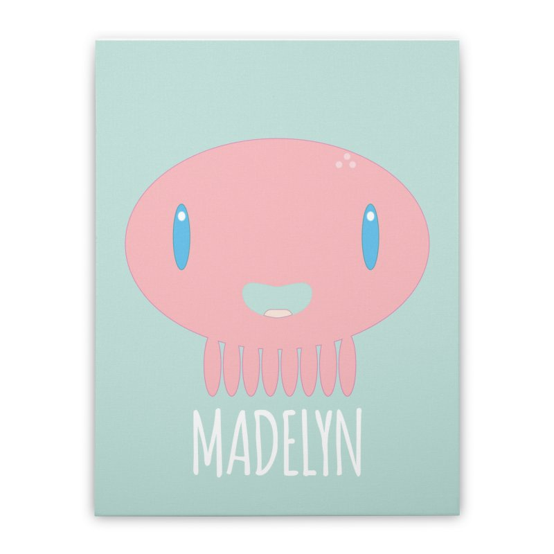 Madelyn Home Stretched Canvas by Jellywishes