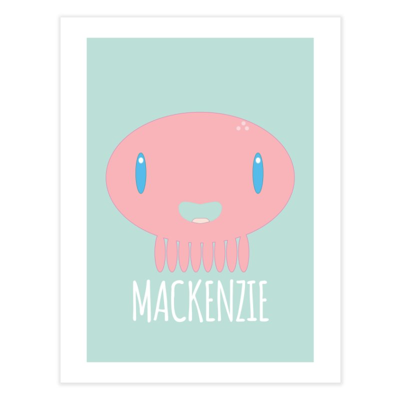 Mackenzie Home Fine Art Print by Jellywishes