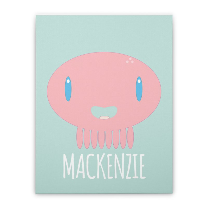 Mackenzie Home Stretched Canvas by Jellywishes