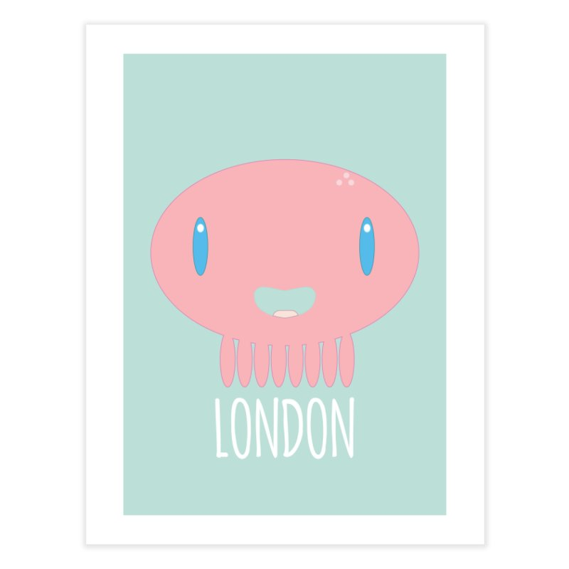 London Home Fine Art Print by Jellywishes