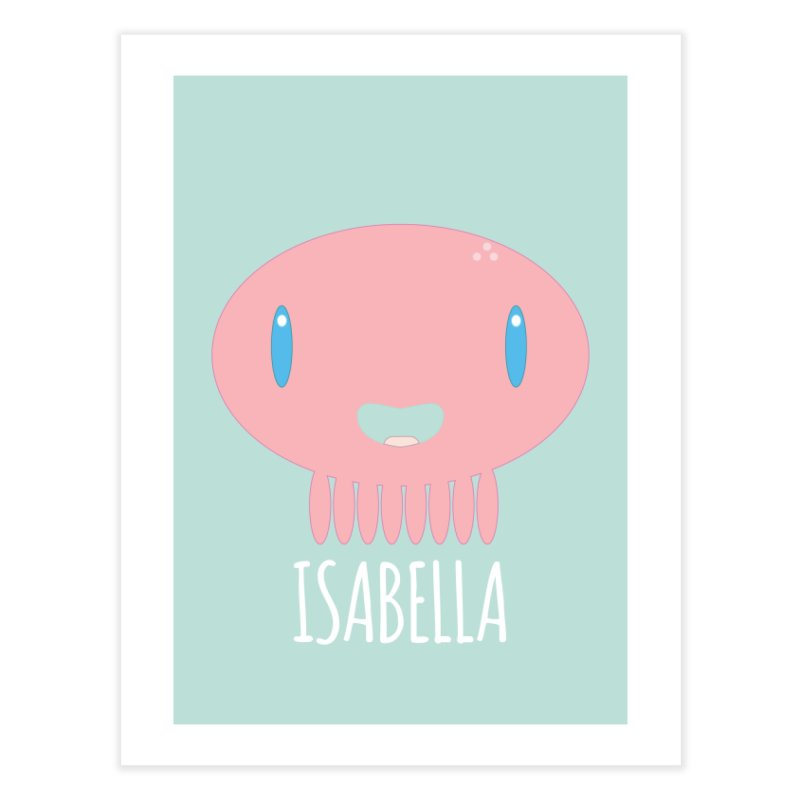 Isabella Home Fine Art Print by Jellywishes