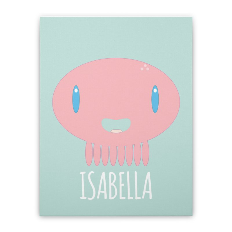 Isabella Home Stretched Canvas by Jellywishes