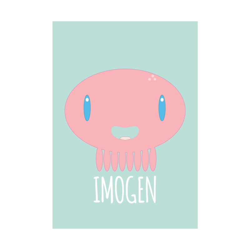 Imogen Home Fine Art Print by Jellywishes