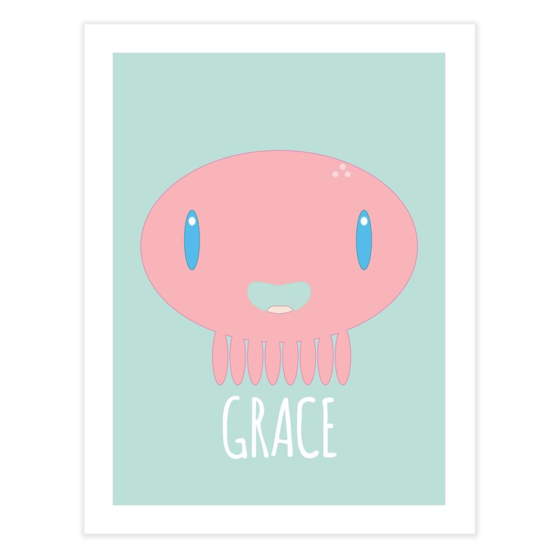 Grace Home Fine Art Print by Jellywishes