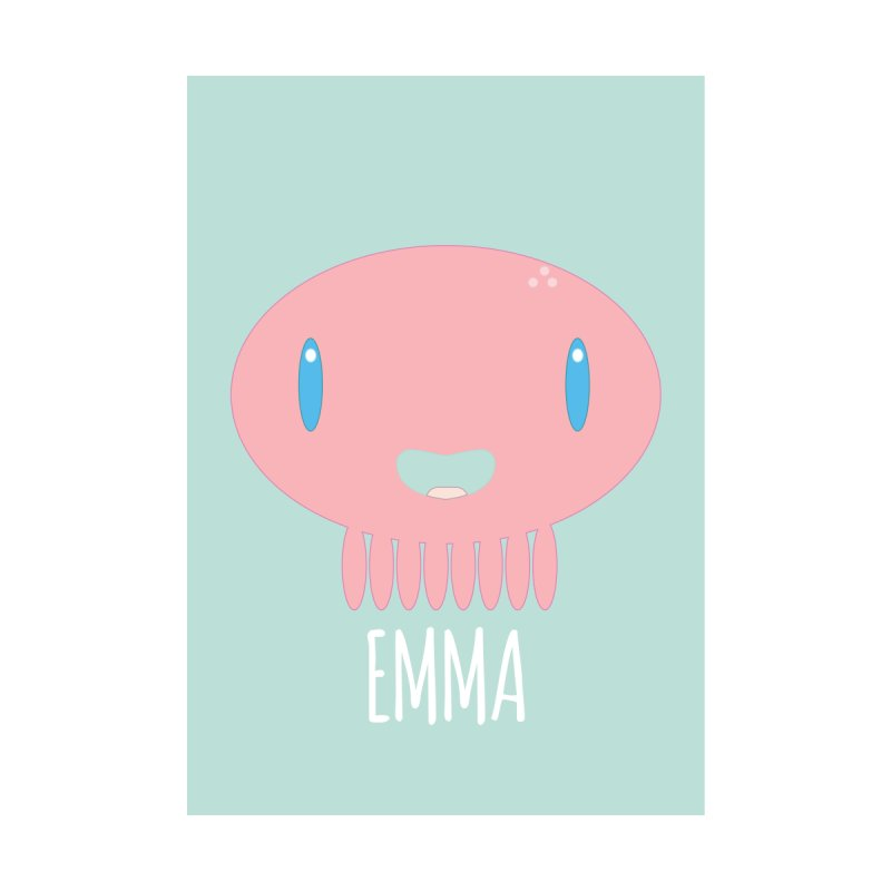Emma Home Fine Art Print by Jellywishes
