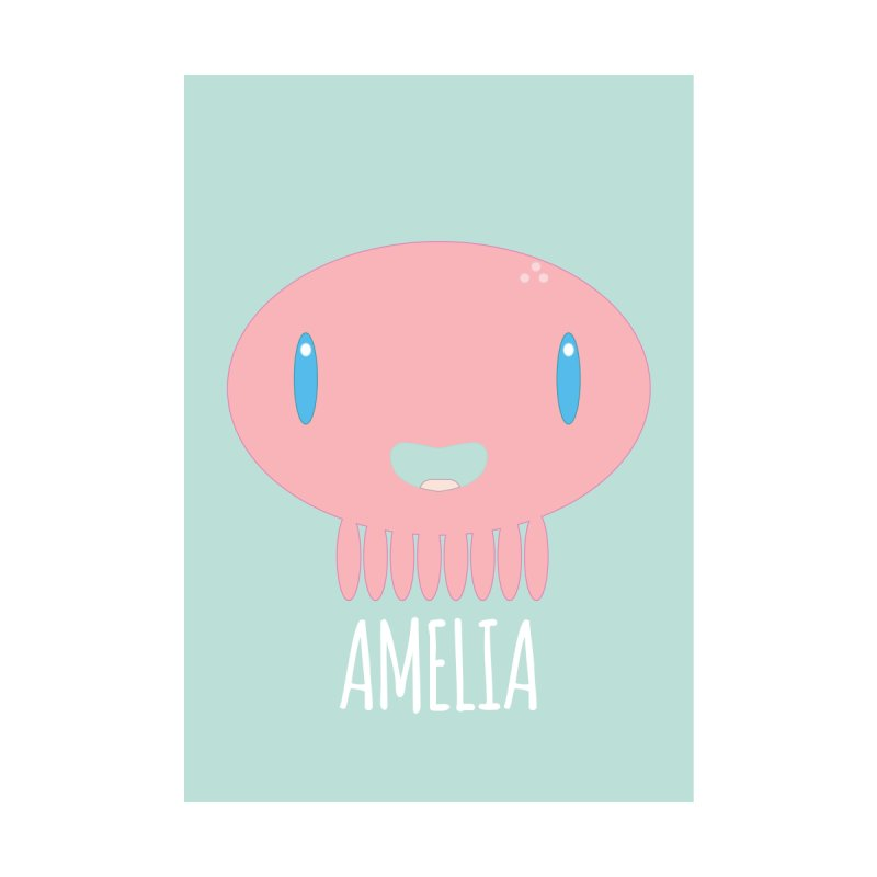Amelia Home Fine Art Print by Jellywishes