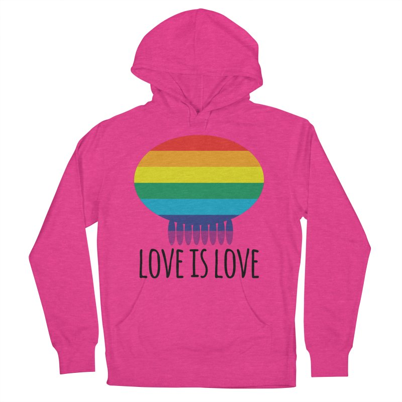 Love is Love Women's French Terry Pullover Hoody by Jellywishes