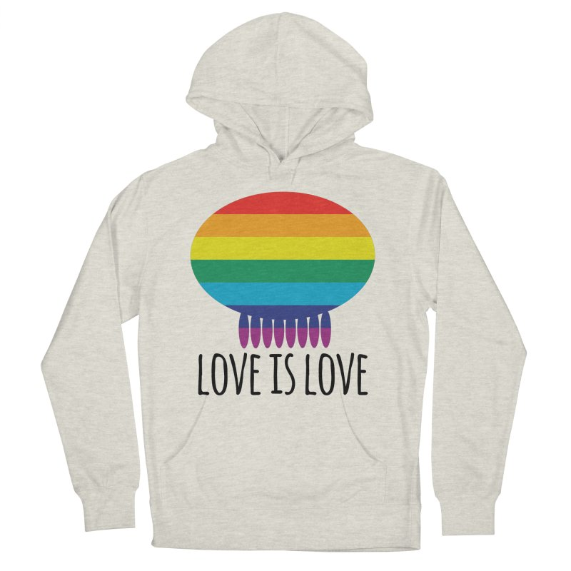 Love is Love Men's French Terry Pullover Hoody by Jellywishes