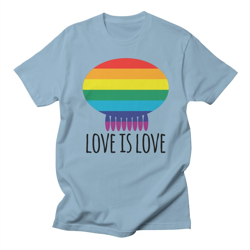 Love is Love Women's Regular Unisex T-Shirt by Jellywishes