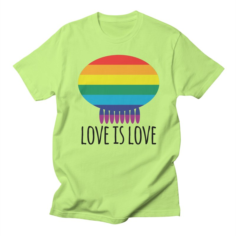 Love is Love Men's Regular T-Shirt by Jellywishes