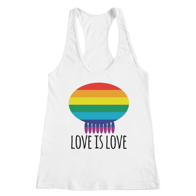 Love is Love Women's Tank by Jellywishes