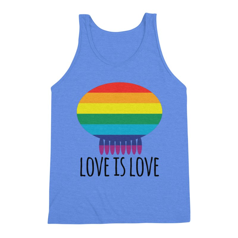 Love is Love Men's Tank by Jellywishes