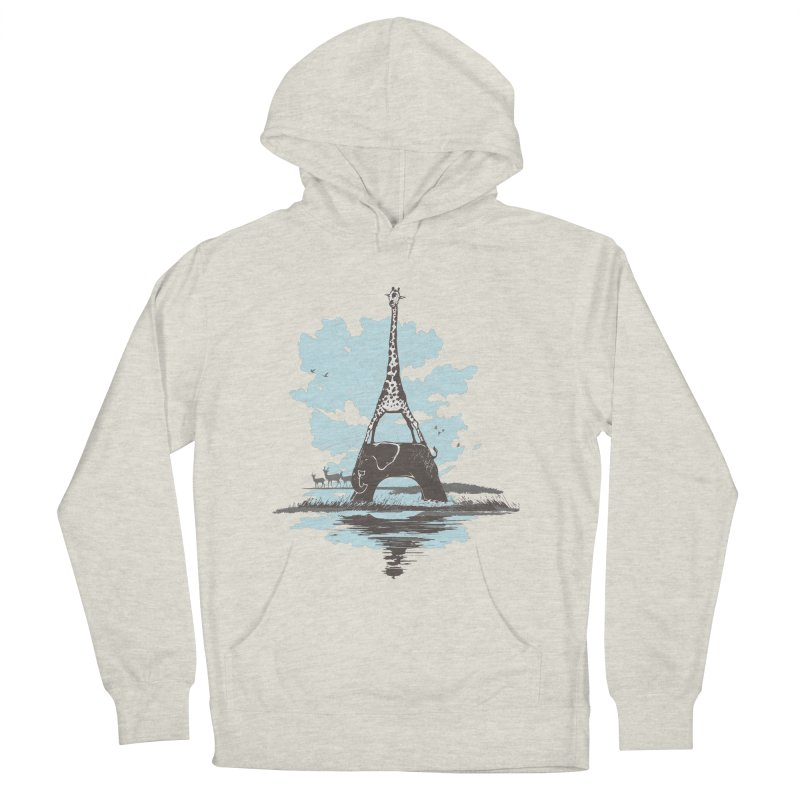 From Paris to Africa Men's Pullover Hoody by Jemae's Design
