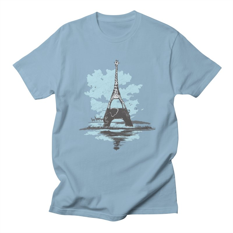 From Paris to Africa Women's Unisex T-Shirt by Jemae's Design