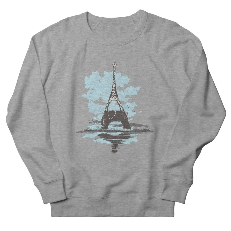 From Paris to Africa Women's Sweatshirt by Jemae's Design
