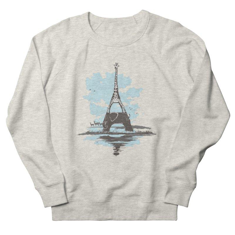 From Paris to Africa Men's Sweatshirt by Jemae's Design