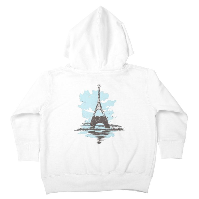 From Paris to Africa Kids Toddler Zip-Up Hoody by Jemae's Design