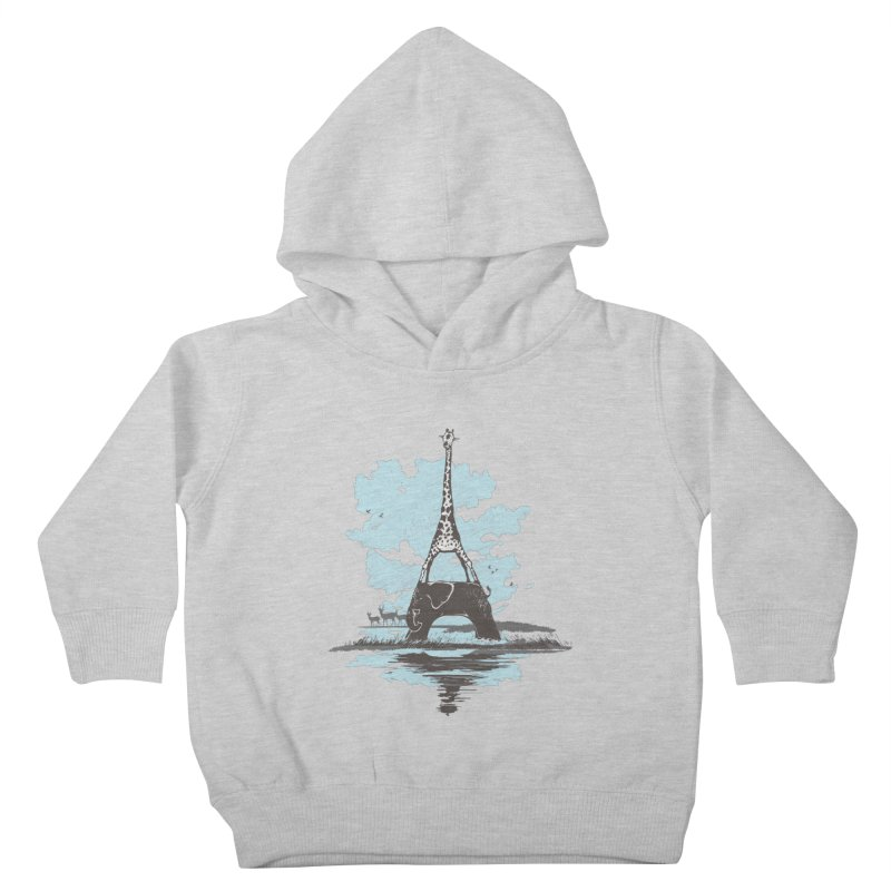 From Paris to Africa Kids Toddler Pullover Hoody by Jemae's Design