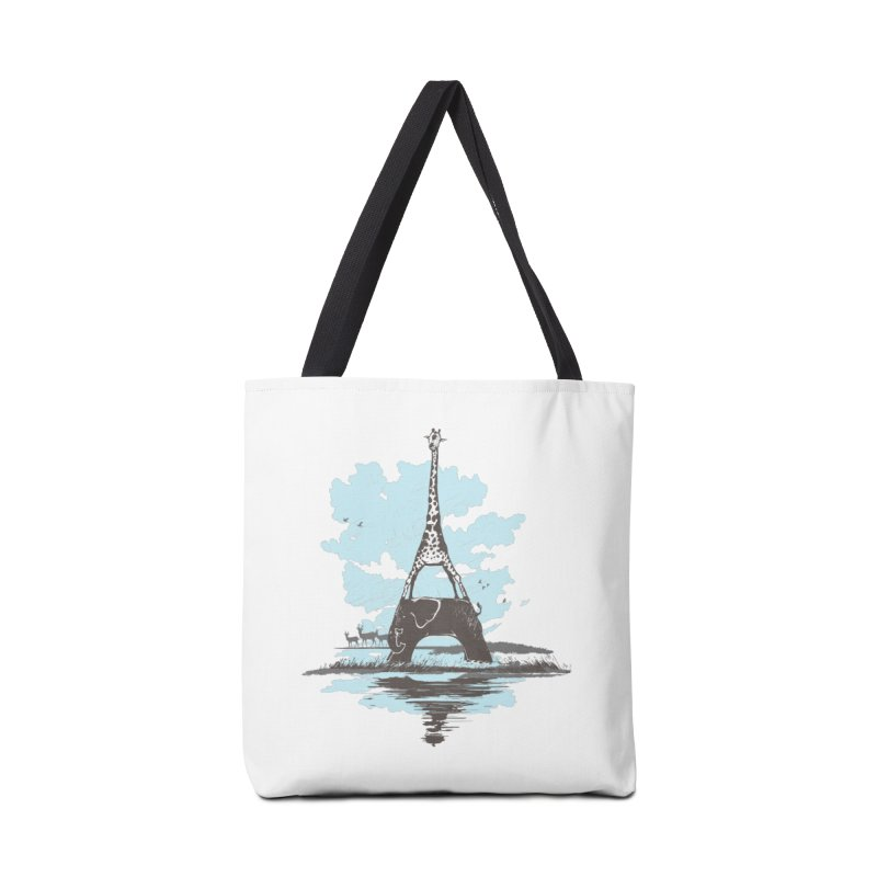From Paris to Africa Accessories Bag by Jemae's Design