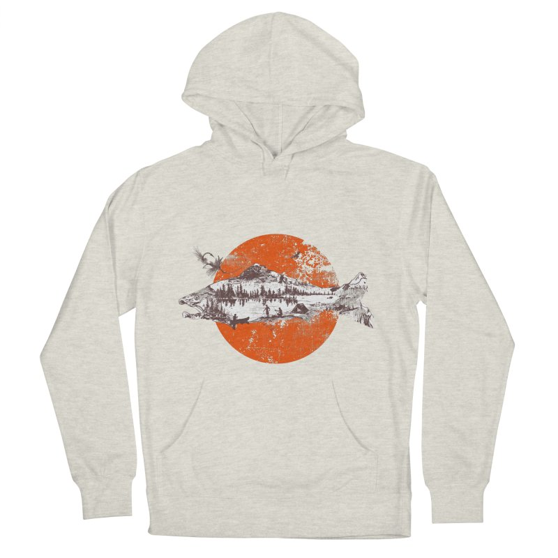 The Mountains Are Calling Men's Pullover Hoody by Jemae's Design