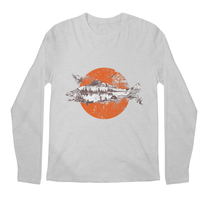 The Mountains Are Calling Men's Longsleeve T-Shirt by Jemae's Design