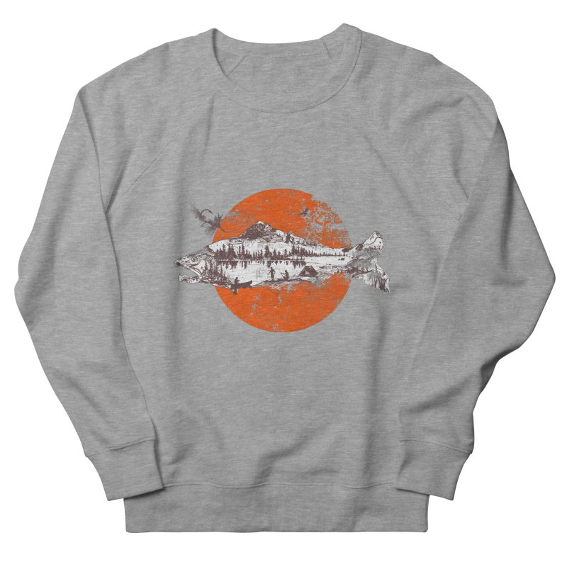 The Mountains Are Calling Men's Sweatshirt by Jemae's Design