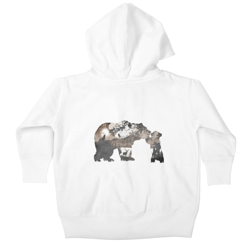Show me daddy.. Kids Baby Zip-Up Hoody by Jemae's Design