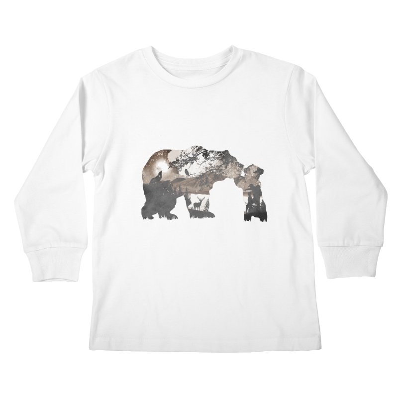 Show me daddy.. Kids Longsleeve T-Shirt by Jemae's Design